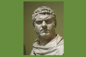 Kaisar Romawi, Caracalla. (Wikipedia.org)