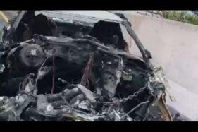 Mobil Kecelakaan dan Terbakar, Wakil Jaksa Agung Meninggal Dunia