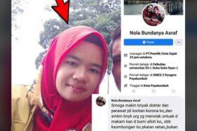 Doakan Tenaga Medis Kena Corona, Netizen Ini Dibekuk Polisi
