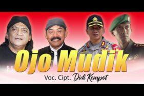 Lirik Lagu Ojo Mudik - Didi Kempot feat Rudy Wali Kota Solo