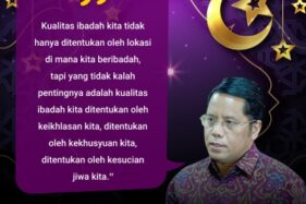 Kamaruddin Amin: Kesucian Jiwa saat Ramadan
