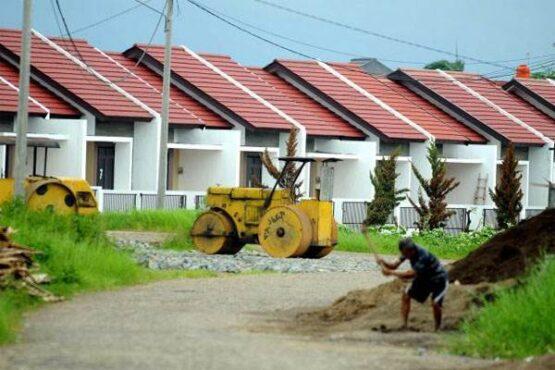 Ilustrasi rumah bersubsidi (Bisnis.com)