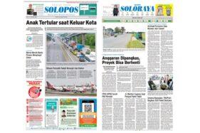 Solopos Hari Ini: Anak Solo Tertular Corona saat Keluar Kota