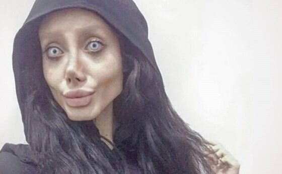Angelina Jolie KW selebgram Iran terinfeksi virus corona di penjara. (Istimewa)
