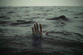 Ilustrasi orang tenggelam. (Istimewa)