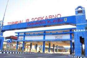 Hari Pertama Lebaran, Tak Ada Pemudik Turun di Terminal Klaten