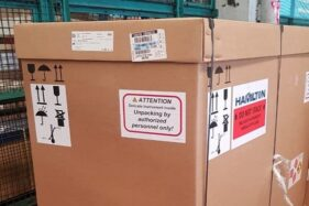 Alat PCR dari Swiss Datang, Bisa Lakukan 10.000 Tes Corona Sehari