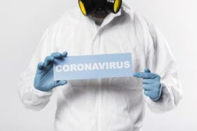 Ilustrasi virus corona. (Freepik)