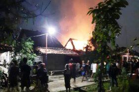 Korsleting Diduga Picu Kebakaran Rumah di Godong Grobogan