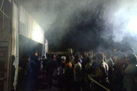 Kebakaran Toko Kelontong di Grobogan Hanguskan Juga Sembako Bantuan