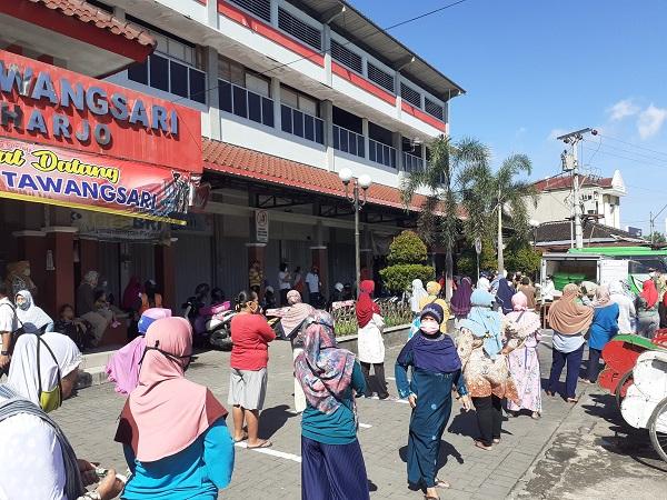 Pasar Murah Sukoharjo Diperpanjang dan Lokasi Ditambah, Cek Jadwalnya