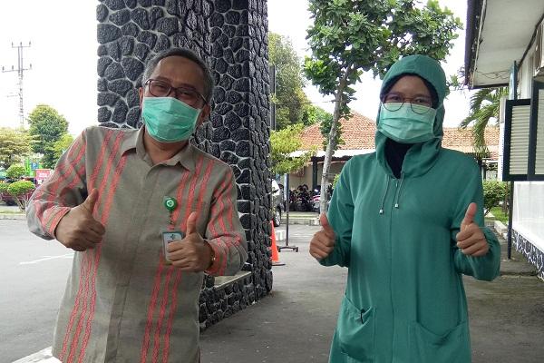 Pasien Covid-19 di RSUP dr Soeradji Tirtonegoro Klaten Dipantau Lewat CCTV