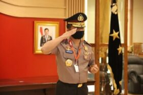 Kapolda Jateng, Irjen Pol. Ahmad Luthfi, seusai menyampaikan Commander Wish di Gedung Mapolda Jateng, Kota Semarang, Rabu (20/5/2020) malam. (Semarangpos.com-Bidhumas Polda Jateng)