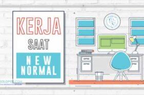 Infografis Kerja Saat New Normal (Solopos/Whisnupaksa)