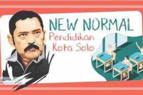 Infografis New Normal Pendidikan Kota Solo (Solopos/Whisnupaksa)