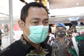 Wali Kota Semarang Hendrar Prihadi saat melakukan kesiapan new normal di Java Mall Semarang, Jawa Tengah. (Youtube—hendrarprihadi)