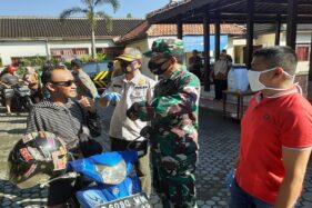 Ratusan Pengguna Jalan Terjaring Razia Masker di Sukoharjo, Ini Sanksinya