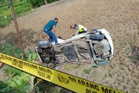 Mobil Terseret 25 Meter Usai Tersambar Kereta Api di Grobogan, Pengemudi Selamat