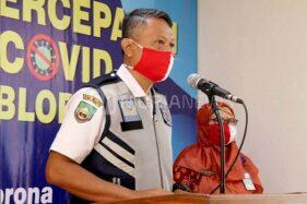 Kabid Perhubungan Dinrumkimhub Blora Bambang Soegiyatno. (Murianews-Dani Agus)