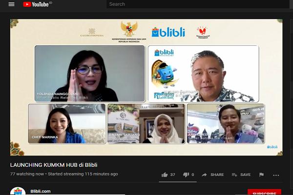 Dorong UMKM Berkembang, Blibli-Kemenkop UKM Luncurkan KUMKM HUB