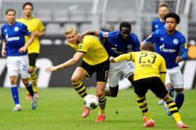 Pertandingan Borussia Dortmund v Schalke 04. Reuters/Martin Meissner