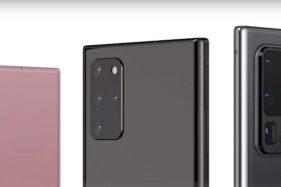Render Samsung Galaxy Note 20 yang dipercaya bakal menganut desain tak berbeda jauh dari Galaxy S 20. (Istimewa)