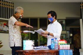 Bertemu Gibran di Semarang, Gubernur Ganjar Sampaikan Komitmen Ini Untuk Soloraya