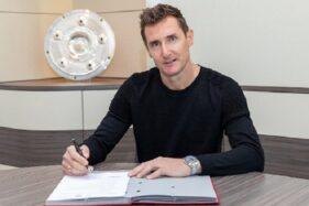 Resmi! Miroslav Klose Ditunjuk Jadi Asisten Pelatih Bayern Munchen