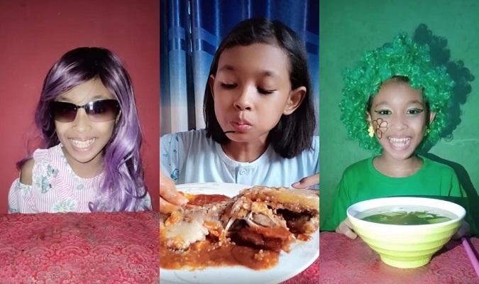 Mukbang Sambel Wader & Berbahasa Jawa, Selebgram Cilik Boyolali Viral
