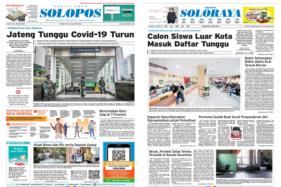 Koran Solopos Edisi Kamis (28/5/2020)