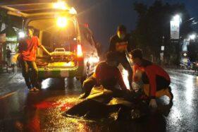 Tabrak Lari di Jl. Solo-Tawangmangu Karanganyar, 1 Orang Meninggal