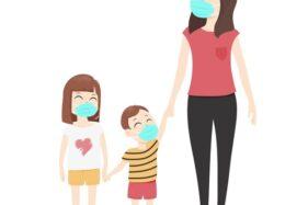 Kita harus melindungi anak-anak agar tidak terpapar virus corona (ilustrasi/freepik)