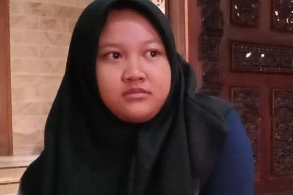 Siyola Pudi Regena Resi, anak Didi Kempot dari istri pertama. (Detik.com)