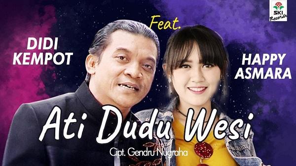 Lirik Lagu Ati Dudu Wesi - Didi Kempot feat Happy Asmara