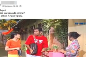Video Viral Sitkom Bajaj Bajuri 2002 Bahas Virus Corona, Cek Faktanya!