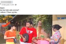 Cuplikan adegan viral Sitkom Bajaj Bajuri membahas virus dari China. (Detik.com)