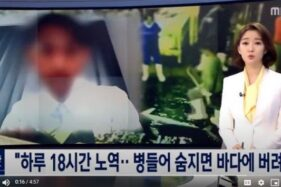 Video viral berita MBC soal WNI ABK di China yang dikutip Jang Hansol. (Istimewa/Youtube)