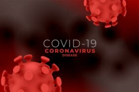 Ilustrasi virus corona (Covid-19). (Freepik)