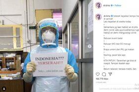 dr Tirta: Tarawih Tak Bisa di Masjid, Tapi Bandara Sesak, Indonesia Terserah!!!