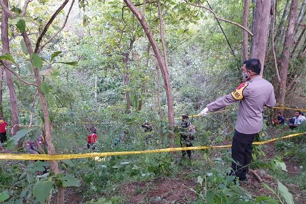 Polisi Belum Bisa Ungkap Kasus Mayat Tinggal Kerangka di Puhpelem Wonogiri