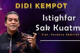 Klip Didi Kempot Istigfar Sak Kuatmu. (Youtube)