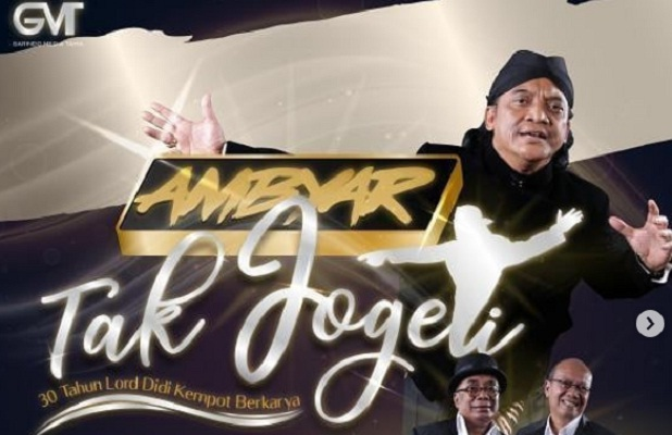 Konser Akbar Didi Kempot 14 November 2020 Tetap Digelar, Hadirkan Hologram Sang Maestro