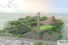Cantik! Desain MAJT Magelang Dilengkapi Piramida Melengkung