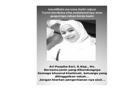 Perawat RS Royal Surabaya meninggal berstatus PDP corona. (Detik.com)