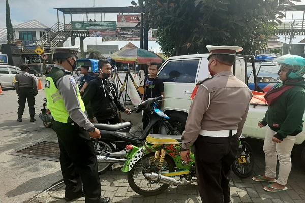 120 Motor Knalpot Brong di Tawangmangu dan Karanganyar Ditilang, Razia Bakal Diperluas