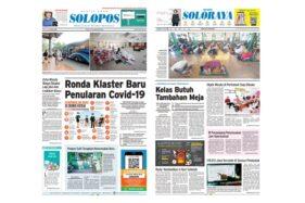 Harian Umum Solopos edisi Sabtu (30/5/2020).