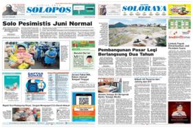 Solopos Hari Ini: Solo Pesimistis Juni Normal