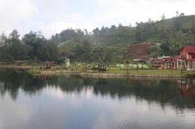 Objek wisata Telaga Madirda di Ngargoyoso, Karanganyar, disulap sebagai tempat karantina pemudik, Sabtu (9/5/2020). (Solopos/Sunaryo Haryo Bayu)