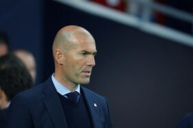 Pelatih Real Madrid, Zinedine Zidane. (Reuters)