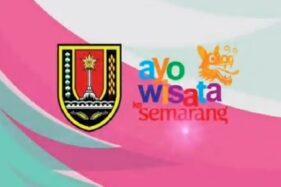 Tangkapan layar video simulasi berwisata saat new normal oleh Dinas Kebudayaan dan Pariwisata (Disbudpar) Kota Semarang. (Instagram—disbudparkotasemarang)